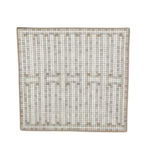طبق مربع هيرمس موزايك اوو 24 بلاتينيوم رقم 2