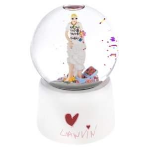 Lanvin White Musical Snowball