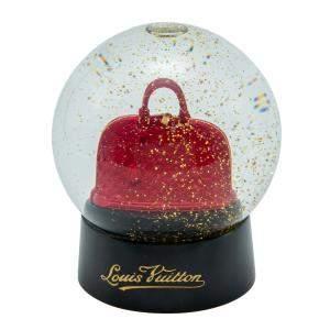 Louis Vuitton Red Alma Bag Snowball