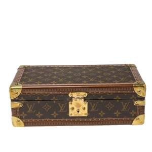Louis Vuitton Monogram Canvas 8 Watch Trunk Case