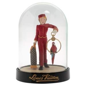 Louis Vuitton Porter Bell Boy Snow Globe