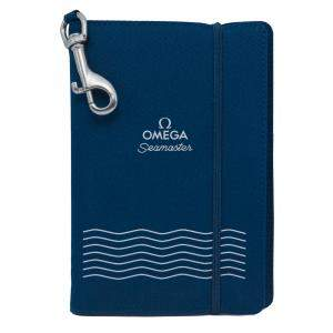 Omega Seamaster Navy Blue Notebook and Pencil Set