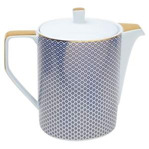 Rosenthal Blue Francis Carreau Coffee Pot 3