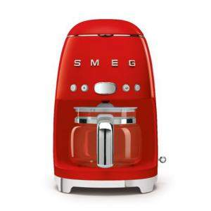 Smeg 50'S Retro Style Aesthetic Drip Filter Coffee Machine,Red (Available for UAE Customers Only)
