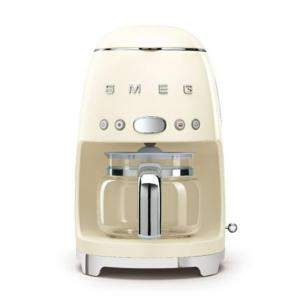 Smeg 50'S Retro Style Aesthetic Drip Filter Coffee Machine,Cream (Available for UAE Customers Only)