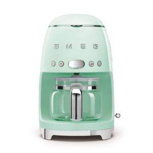 Smeg 50'S Retro Style Aesthetic Drip Filter Coffee Machine, Pastel Green (Available for UAE Customers Only)
