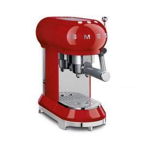 ماكينة تحضير قهوة اسبريسو سميج طراز رترو الخمسينات أسثيتيك، حمراء (متاح لعملاء دولة الإمارات العربية فقط)