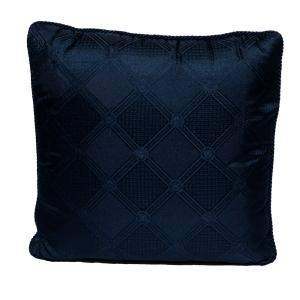 Versace Medusa Navy Blue Cotton Cushion