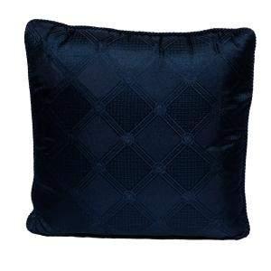 Versace Medusa Navy Blue Cotton Cushion 45 CM