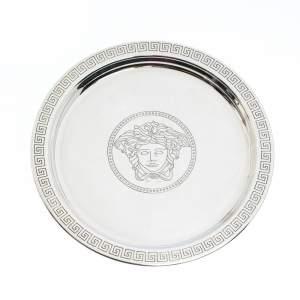 Versace Silver 925 Medusa Mini Round Tray