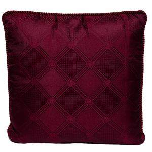 Versace Medusa Red Cotton Cushion