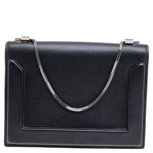 3.1 Phillip Lim Black Leather Soleil Mini Chain Shoulder Bag