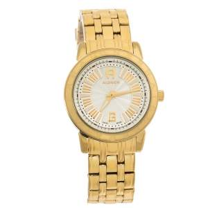 Aigner Gold Plated Stainless Steel Cortina A26300 Women's Wristwatch 36 mm