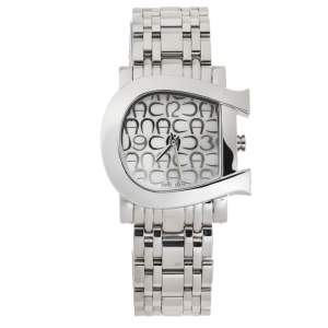 Aigner White Mother Of Pearl Stainless Steel Genua Due A31600 Women's Wristwatch 31 mm