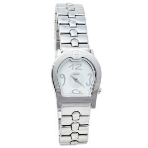 Aigner Silver Stainless Steel Ravenna A01200 Women's Wristwatch 24 mm