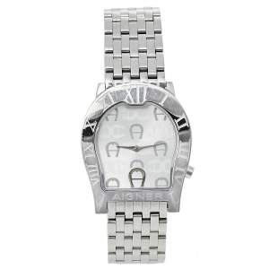 Aigner Silver Stainless Steel Ravenna Nuovo A25100 Women's Wristwatch 33 mm