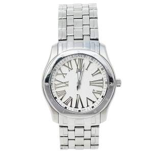 Aigner White Stainless Steel Lazio A42200 Women's Wristwatch 36 mm
