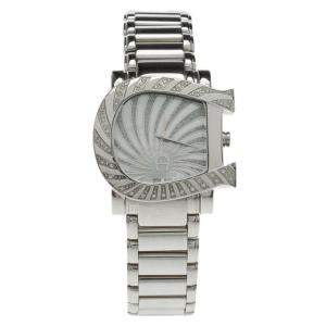 Aigner Mother of Pearl Stainless Steel Genua Due Women's Wristwatch 35MM