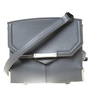 Alexander Wang Grey Leather Small Marion Shoulder Bag