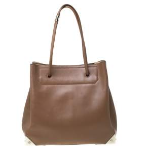 Alexander Wang Brown Leather Prisma Tote