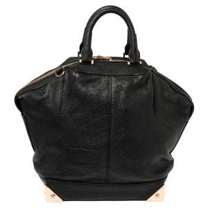 Alexander Wang Black Leather Small Emile Satchel