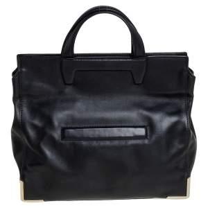 Alexander Wang Black Leather Prisma Tote