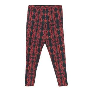Alice + Olivia Romantic Butterfly Print Elasticized Waist Pants M