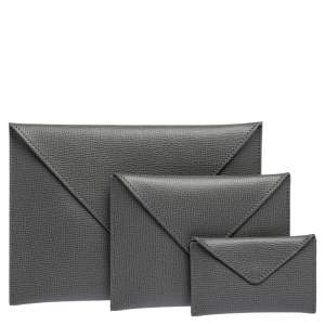 Audemars Piguet Grey Leather Pouch Set