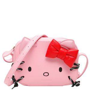 Balenciaga Pink Leather Xs Hello Kitty Camera Bag