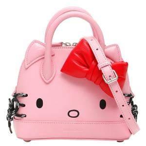 Balenciaga Pink Leather Hello Kitty Ville Xxs Mini Bag