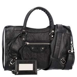 Balenciaga Black Leather Classic City Mini bag