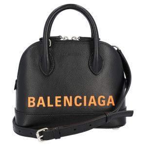 Balenciaga Black Leather Ville Xxs Top Handle Bag