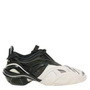 Balenciaga Black/White Tyrex Sneakers Size 38