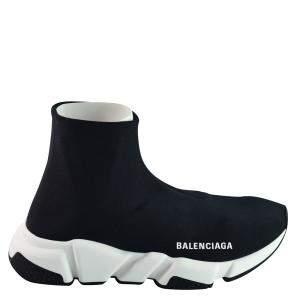 Balenciaga Black Stretch Tess Sneakers EU 36