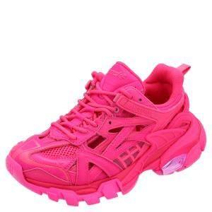 Balenciaga Pink Track Sneakers Size EU 36