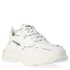 Balenciaga White Triple S Sneakers Size EU 41