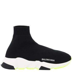 Balenciaga Black/White Speed 2.0 Sneakers Size IT 39