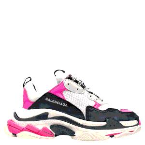Balenciaga Triple S Neon Pink Sneakers Size EU 41