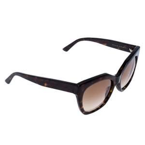 Balenciaga Dark Havana/ Brown Gradient BA 132 Square Sunglasses