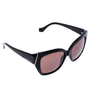 Balenciaga Black Gradient BA 99 Cat Eye Sunglasses