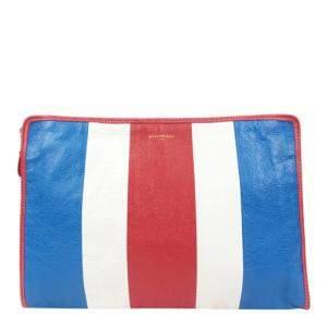 Balenciaga Multicolor Leather Bazar Wallet