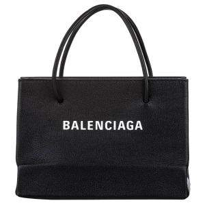 Balenciaga Black Leather Shopping S Bag