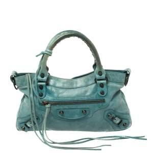 Balenciaga Papete Leather RH First Shoulder Bag
