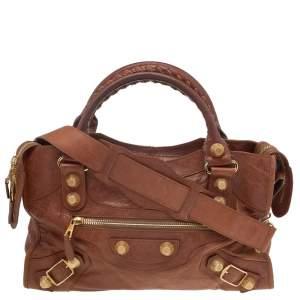 Balenciaga Automne Leather GGH City Bag
