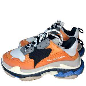 Balenciaga Multicolor Triple S Sneakers Size EU 36