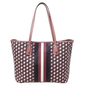 Bally Multicolor Printed Coated Canvas Bernina Tote