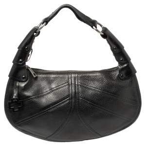 Bally Black Leather Hobo