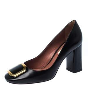 Bally Black Leather Bemmy Pumps Size 37