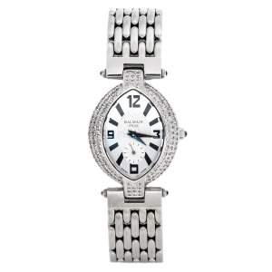 Balmain Silver Stainless Steel Excessive 3731 Women's Wristwatch 28 mm