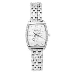 Balmain Silver Stainless Steel Diamond Arcade B1715.33.84 Women's Wristwatch 24 mm